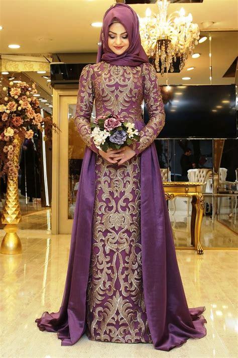 Gamis Pesta Kekinian 2018 model baju pesta muslim yang modern dan kekinian modelbusana