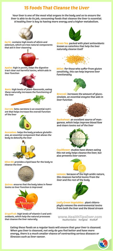 Liver Detox Foods List by Best 15 Foods That Help Cleansing The Liver Naturally