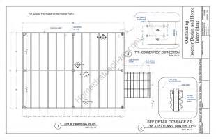 plans for decks 12 x 16 deck plan blueprint with pdf document