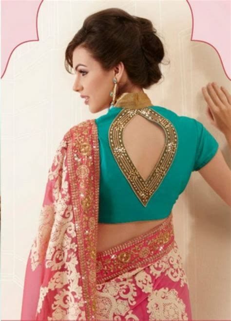 neck pattern blouse design best top collar neck blouse designs for saree wedding