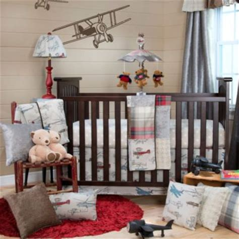 Vintage Aviator Crib Bedding Buy Sweet Jojo Designs Vintage Aviator 11 Crib Bedding Set From Bed Bath Beyond
