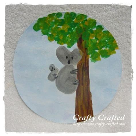 koala craft for crafty crafted crafts for children 187 koala
