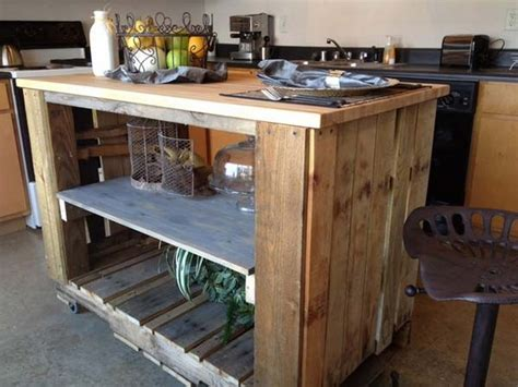 pallet kitchen island 26 creative pallet upcycling projects pallet wood projects