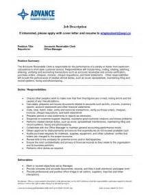 Accounts Receivable Analyst Sle Resume by Account Receivable Resume Getessay Biz