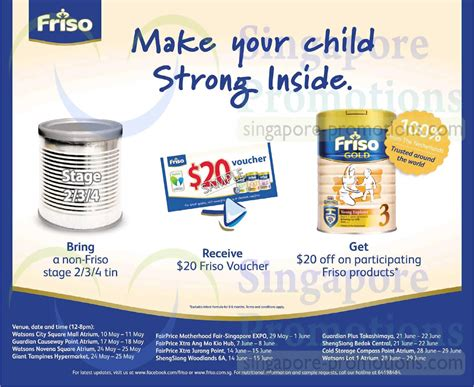 Friso Comfort Singapore by Friso 7 May 2014 187 Friso Trade In Non Friso Tin Get Free