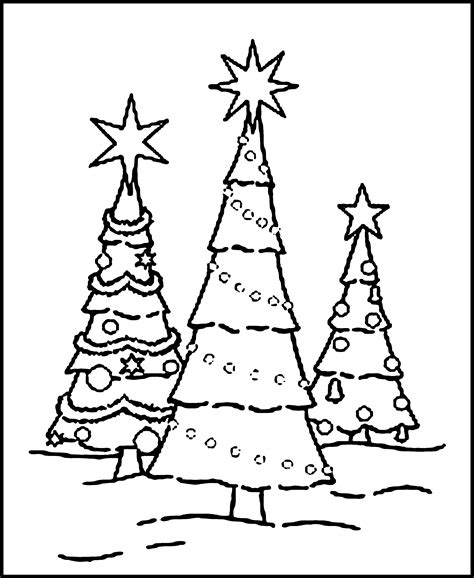 coloring page for a christmas tree free printable christmas tree coloring pages for kids
