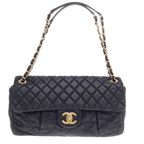 Chanel Quilt Bag by Chanel Chic Quilt Flap Bag Quilted Iridescent Leather