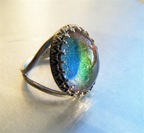 mood ring sterling silver size 6 5