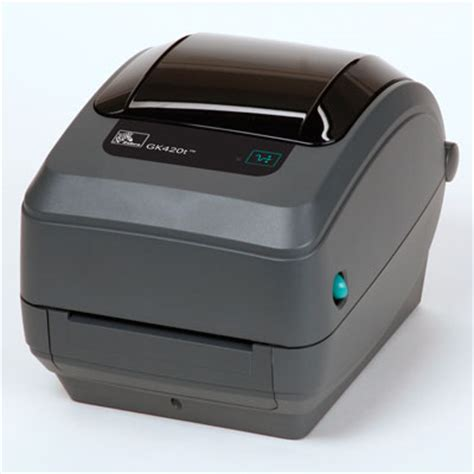 Printet Barcode Zebra Gk420t zebra gk420 series printers