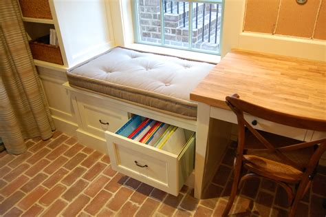 file cabinet bench seat cabinetry inside senoia s 2012 idea house