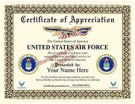 air certificate of appreciation template us air certificate of appreciation 8 5 by 11 inches