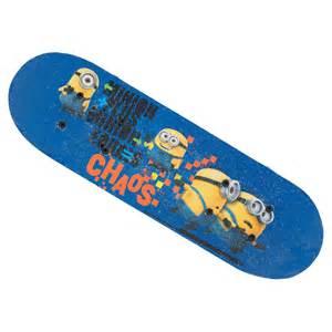 Fun Outdoor Baby Shower Games - despicable me minion skateboard kids skateboards toys