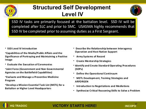 Level 2 Security Officer Examination Answers by Nco Structured Self Development Brief Ppt
