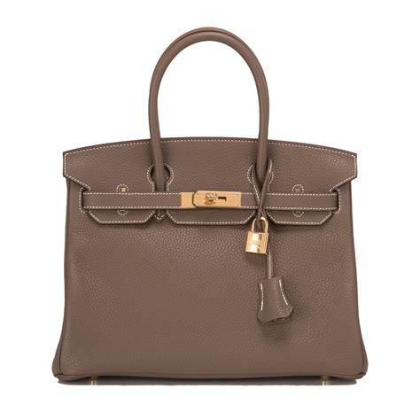 New Arrival Hermes Birkin Clemence 8876 hermes birkin bag 30cm etoupe clemence gold hardware world s best