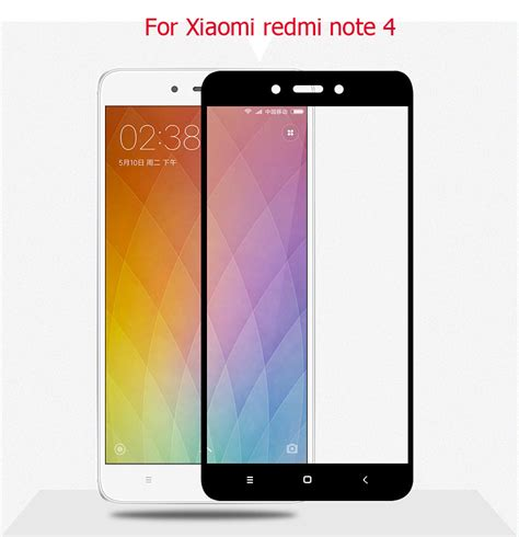 Tempered Glass Redmi Note 4 aliexpress buy new 9h 2 5d redmi note 4