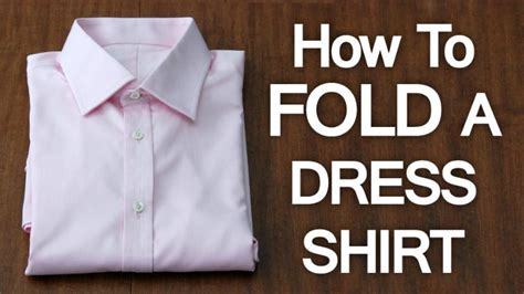 closet organization   fold  dress shirt