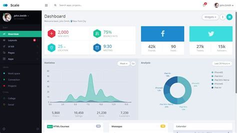 bootstrap admin layout exle 20 free premium bootstrap admin dashboard templates