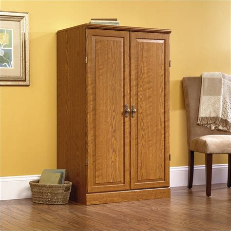 Oak Computer Armoire Orchard Collection Wood Carolina Oak Computer Armoire Ebay