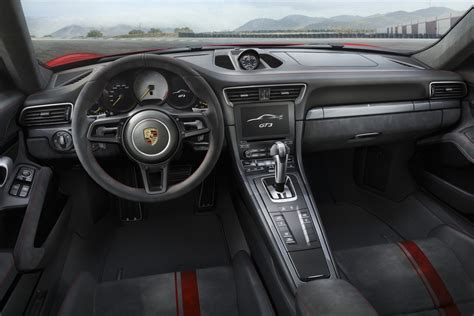 porsche 911 interior 2017 2018 porsche 911 gt3 unveiled with 500hp 4 0l