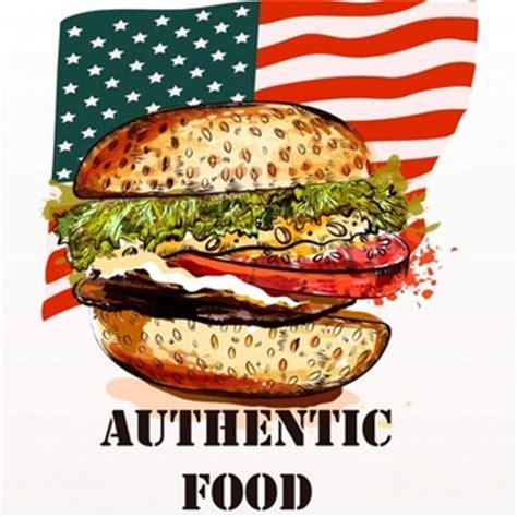 alimenti americani bandiere terra bandiera atlante globale globalizzazione