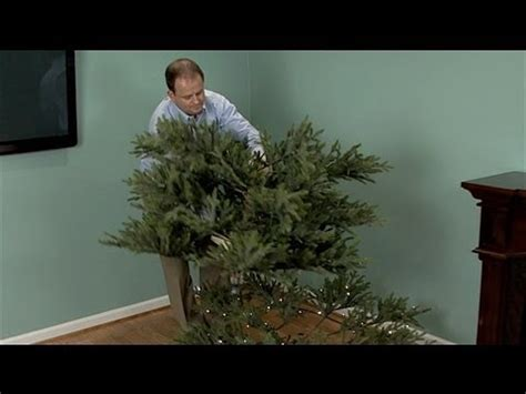 how to take an artificial tree