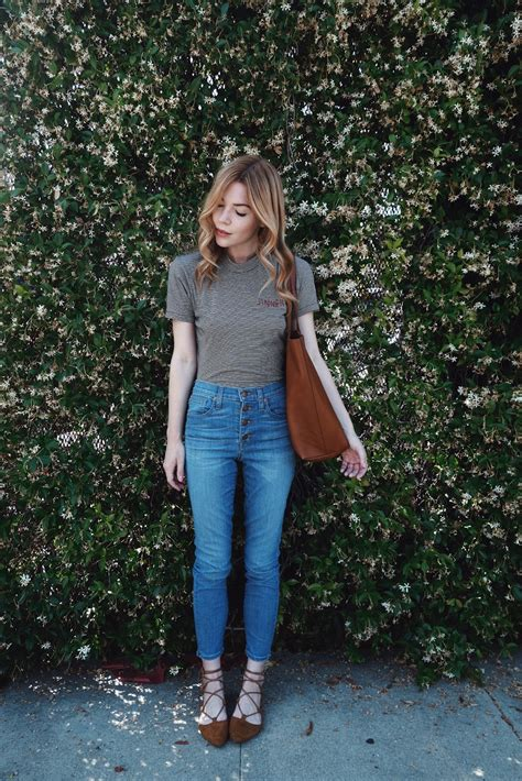 is madewell denim the best the small things blog pretty little fawn la fashion lifestyle blogger denim