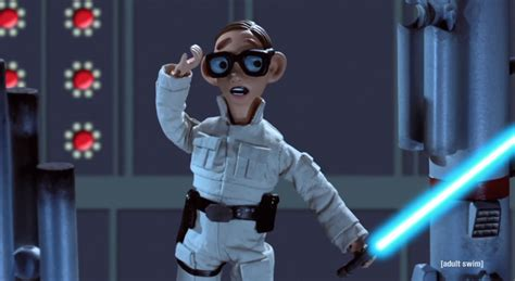 Robot chicken is just as concerned about the new star wars movie as we
