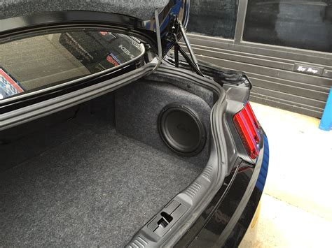 Ford Sub by 2015 2017 Ford Mustang Subwoofer Box Phantom Fit Enclosure