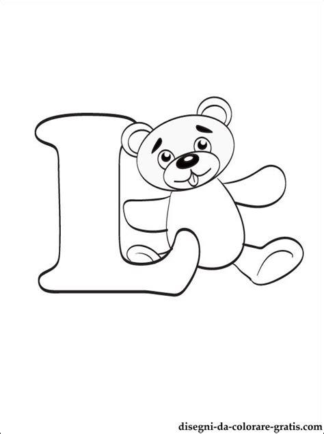 lettere dell alfabeto italiano da stare disegni da colorare lettera l disegni da colorare gratis