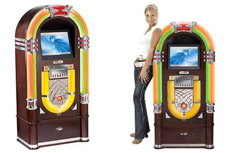 Crosleys Digital Jukebox With Itunes Interface And Server by Crosley Digital Bubbler Jukebox