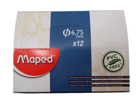 Maped Gom Pen Eraser maped pvc free gom pen eraser recharges