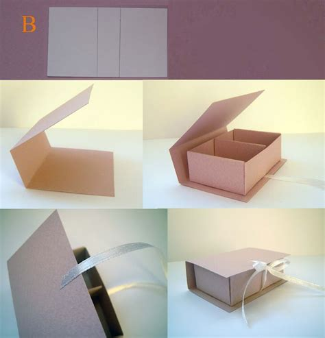 How To Make A Gift Box Out Of Paper - best 25 diy box ideas on paper boxes diy