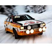 Audi Quattro Car Rally Cars Sports Old Sport