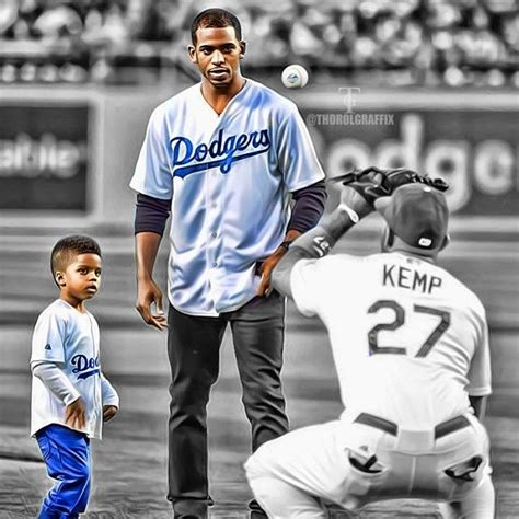 Emotional Elia Paul chris paul and his boy at the dodgers dodgers