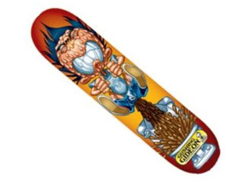 Blind G blind g choi gushing gideon skateboard deck review compare prices buy