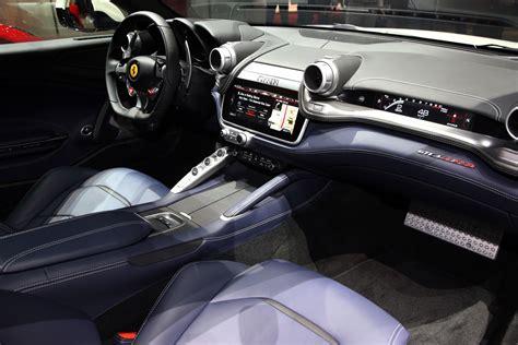 ferrari gtc lusso  geneva  interior car body design