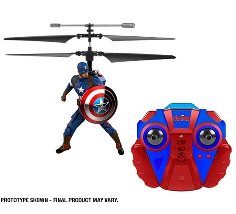 Rc Captain America marvel comics licensed captain america 2ch ir rc helicopter