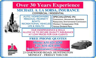 boat insurance huntington ny la sorsa michael a insurance huntington ny 11743 4229