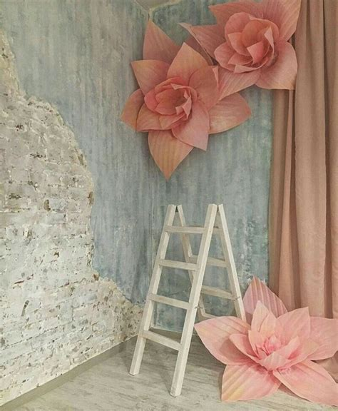 Paper Flower Backdrop Dekorasi Bunga Kertas 50 paper backdrop wedding modern wedding decor backdrop wedding backdrops and