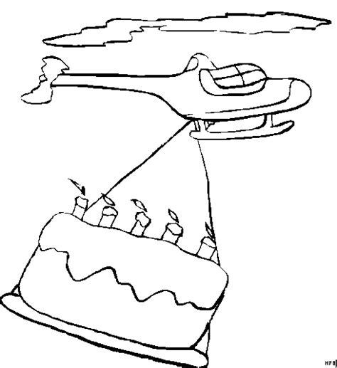 kuchen malvorlage hubschrauber mit kuchen ausmalbild malvorlage comics