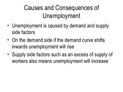 Unemployment Cause And Effect Essay by Cause And Effect Of Unemployment Botbuzz Co