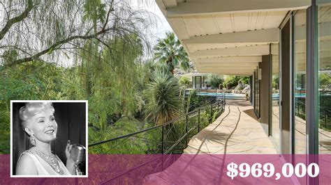 zsa zsa gabor palm springs house zsa zsa gabor s former retreat in palm springs seeks