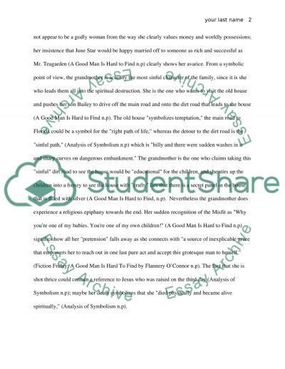 theme essay a good man is hard to find a good man is hard to find analysis essay exle