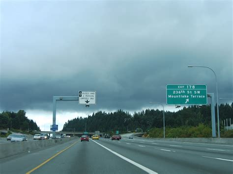 Washington @ AARoads - Interstate 5 North - Snohomish County I 5 Exit 71 In Washington State