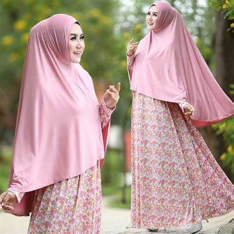 Gamis Murah Gamis Muslim Syar I Gamis Motif Gamis Adem Elastis Busui gamis cantik murah b105 afifah syar i model baju muslim