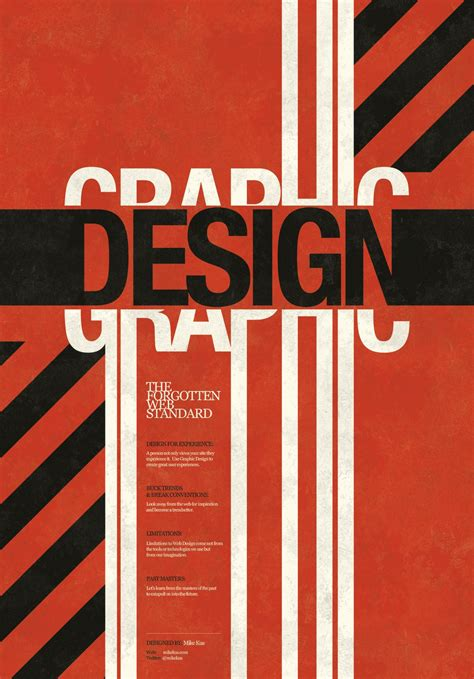 design poster book portfolio graphic design mike kus graphics web
