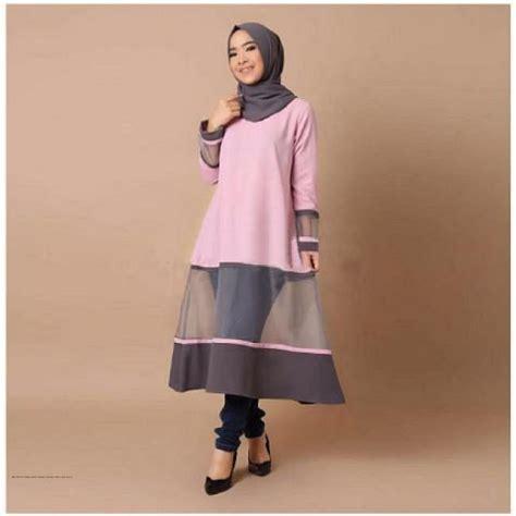 Atasan Jesy Tunik Harga Grosir baju muslim terbaru tunik ruby grosir baju muslim pakaian wanita dan busana murah