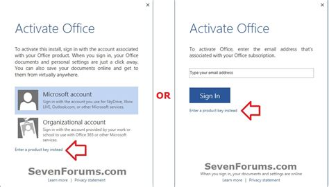 Microsoft Office 2013 Activation Key by How To Activate Office 2013 Using Product Key Overclock