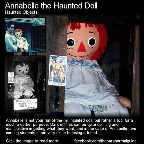 annabelle doll the real story fairyteeth hi meet annabelle the haunted doll the real