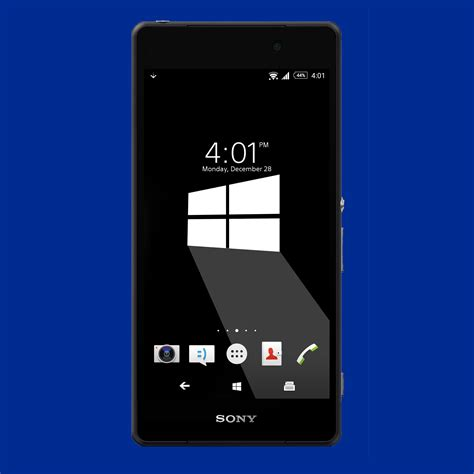 windows theme download for android mobile windows 10 mashup xperia themes inspired from material